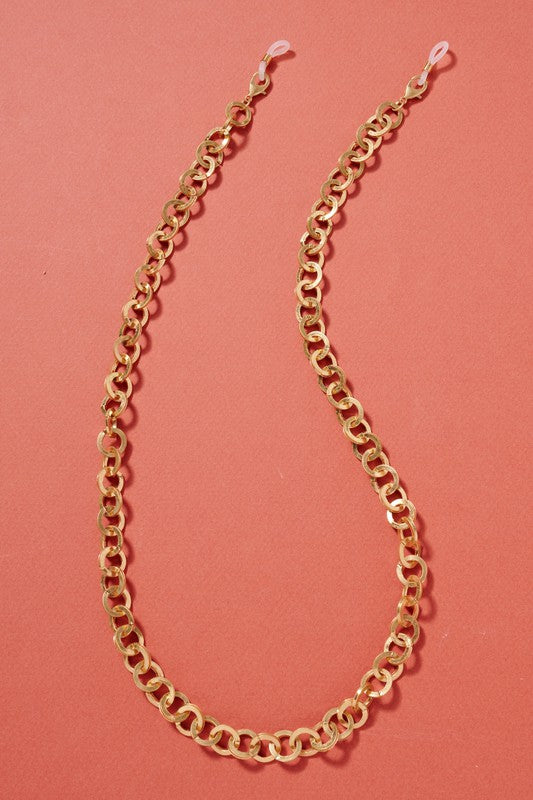 Chunky Chain Linked Mask Lanyards