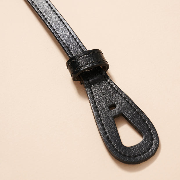 Tie Genuine Leather Belt