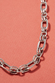 Chunky Chain Linked Short Necklace