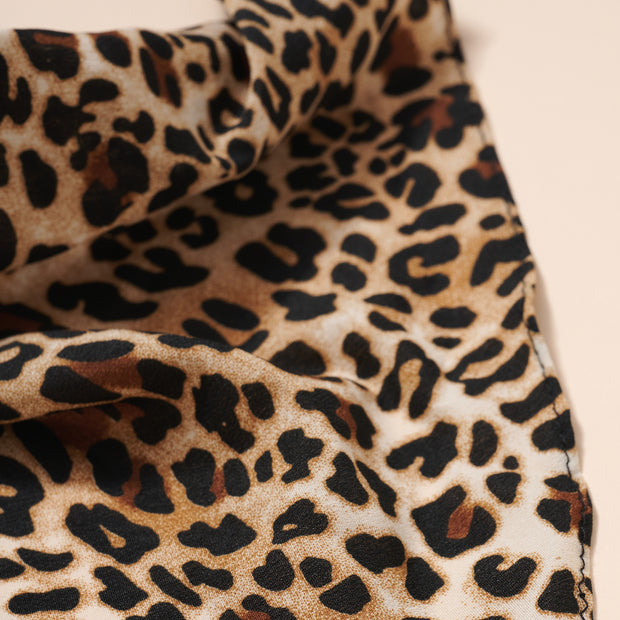 Animal Print Bandana Hair Scarf