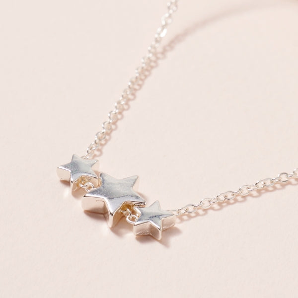 Stars Charms Short Necklace 1