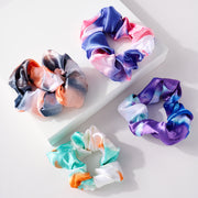 12 Assorted Tie Dye Hair Scrunchies