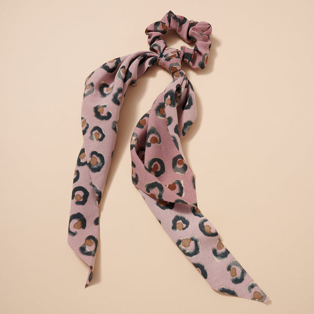 Animal Print Scarf Pony