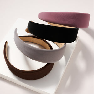 Wide Suede Head Band