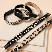 Animal Print Calf Hair iPhone Charger Bracelet