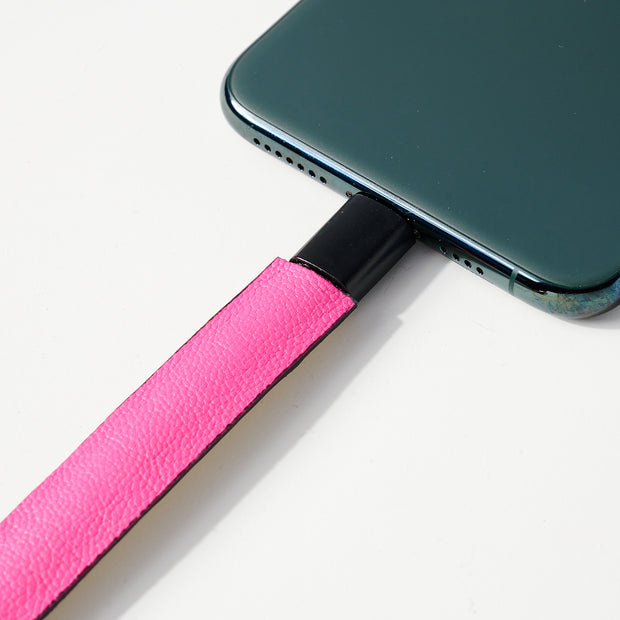 Solid Leather iPhone Charger Bracelet 1