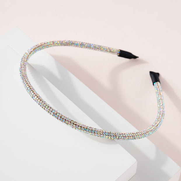 Rhinestones Decorated Head Band