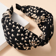 Floral Print Twisted Head Band
