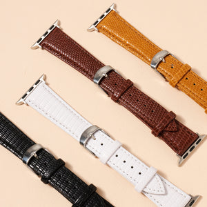 Crock Embossed Leather iWatch Band Small