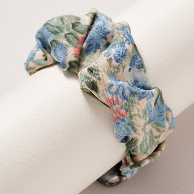 Scrunchie Floral Print iWatch Band 38 MM Small 1