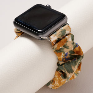 Scrunchie Floral Print iWatch Band 38 MM Small
