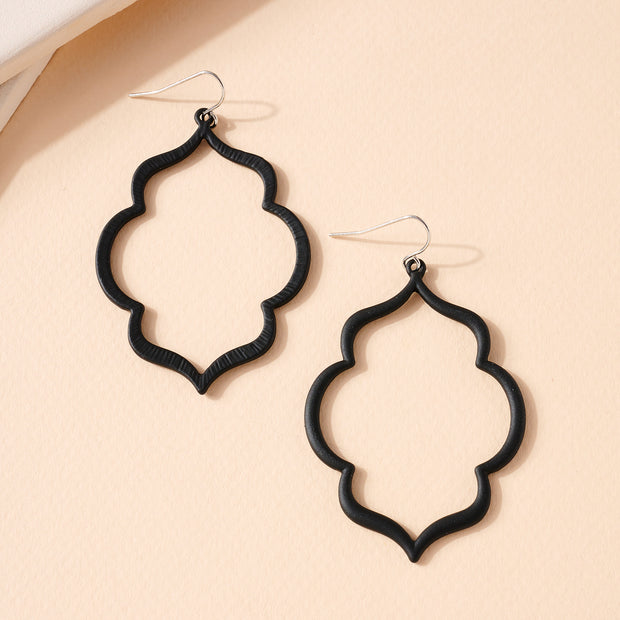 Moroccan Metal Dangling Earrings 1