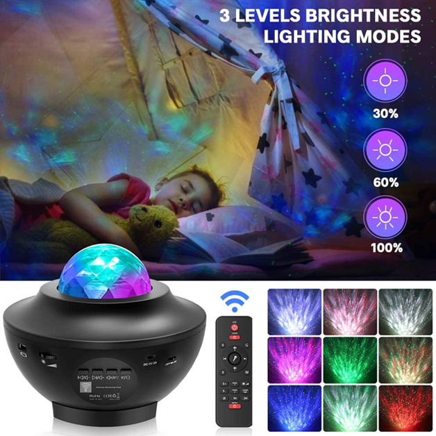 Galaxy Starlight Projector