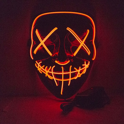 PurgeMe™ - Halloween LED Mask Best for Party