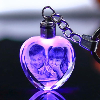 Customized Crystal Keychain with Gift Box - BEST GIFT IDEA