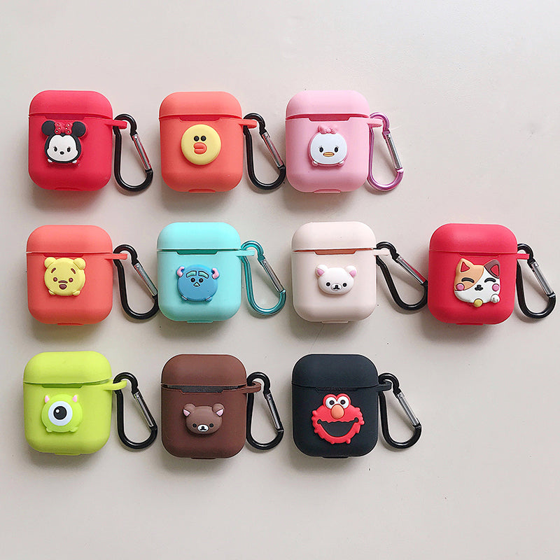info for d8c29 1b1c5 Cute Cartoon Silicone Case Cover for Apple Airpod