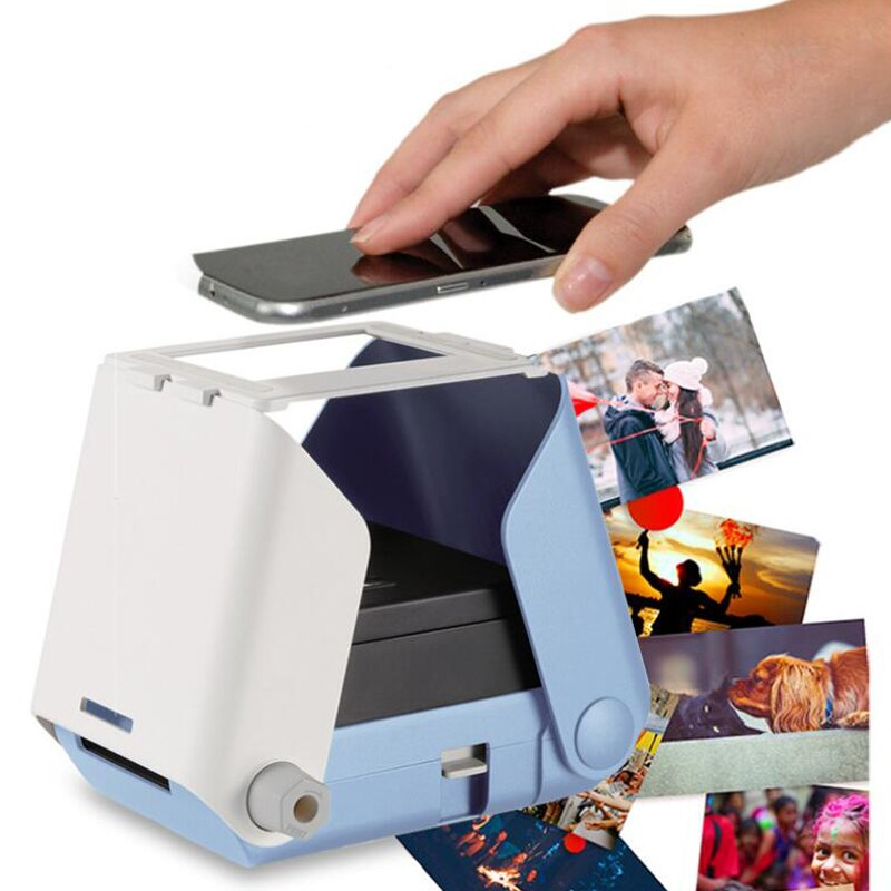 Portable Smartphone Photo Printer - No Battery Required