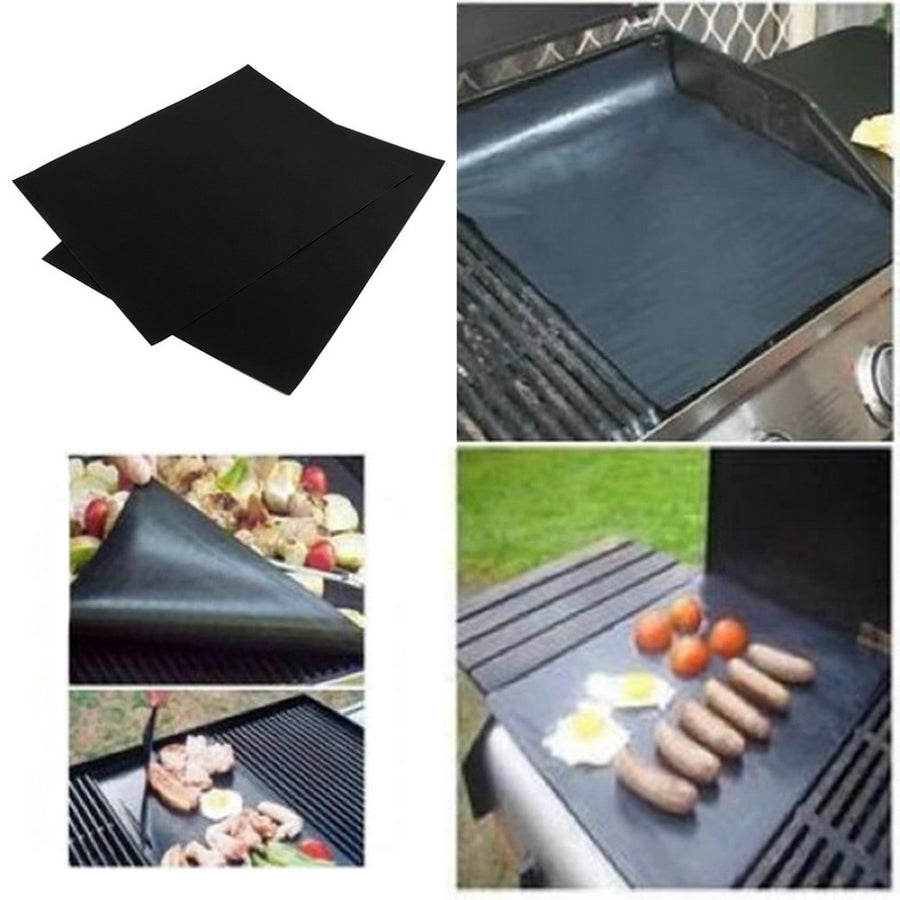 Ultimate Non-Stick Surface BBQ Grill Mats (2 Pcs)