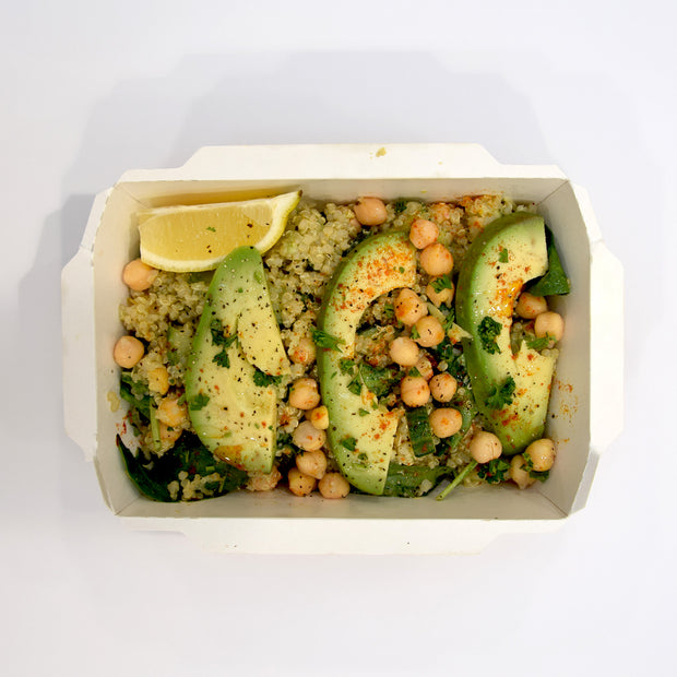 Avo, Chickpea and Quinoa Salad