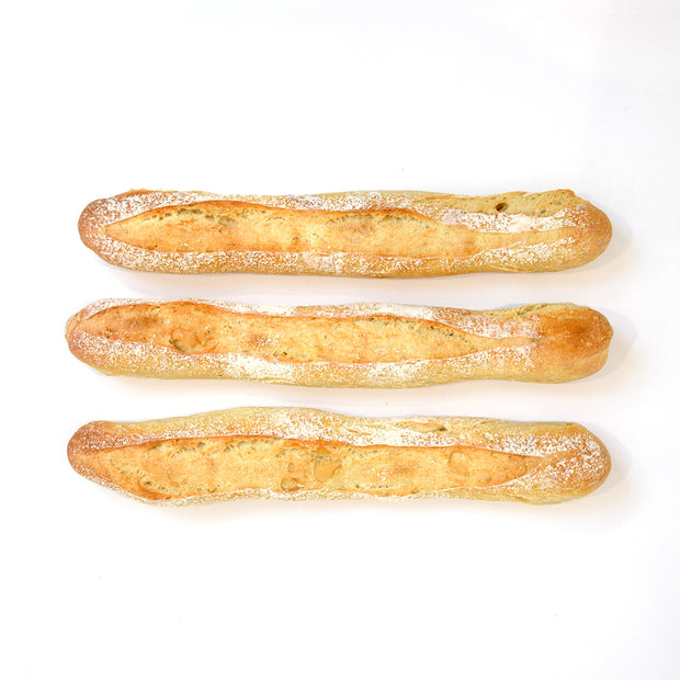 3 French Baguettes