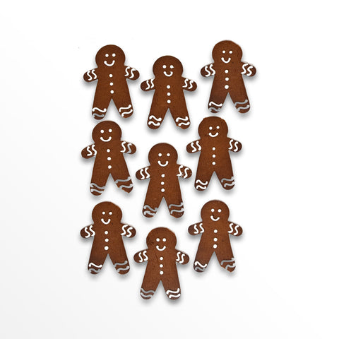 5 Gingerbread Men