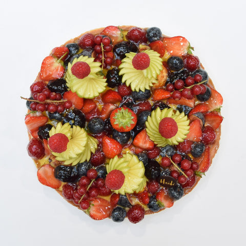 Large Mixed Fruit Tart