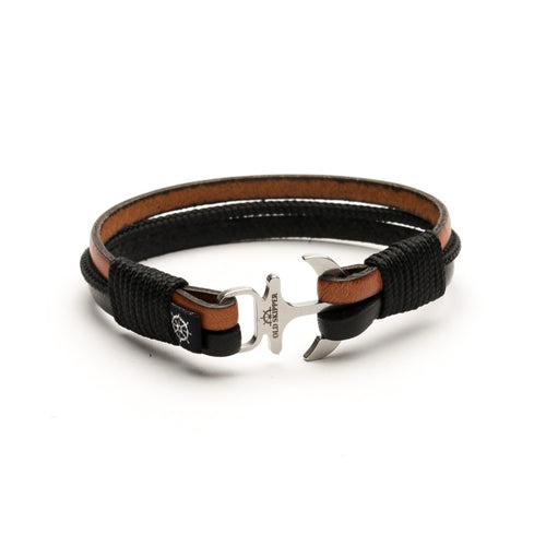 Anchor Leather Bracelet DAYTONA - Old Skipper