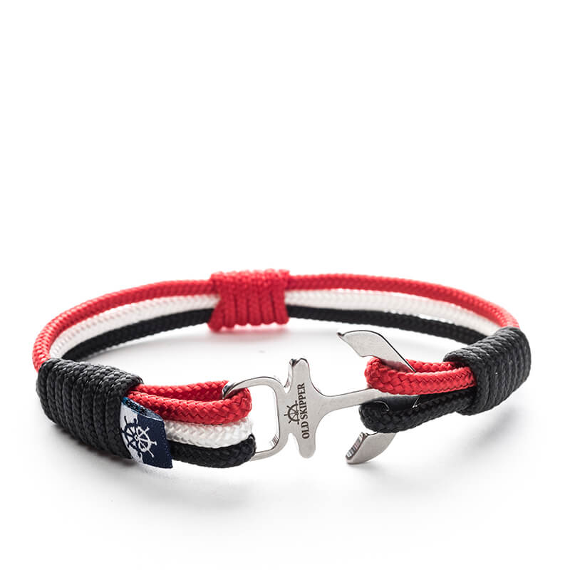 Anchor Nautical Rope Bracelet MAYNARD - Old Skipper