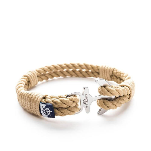 Anchor Nautical Rope Bracelet XINGBA - Old Skipper