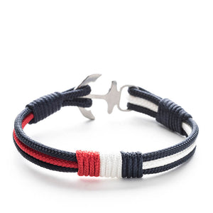 Anchor Nautical Rope Bracelet CABRAL - Old Skipper