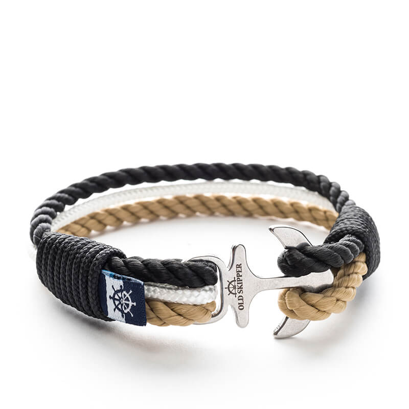 Anchor Nautical Rope Bracelet CALICO JACK - Old Skipper