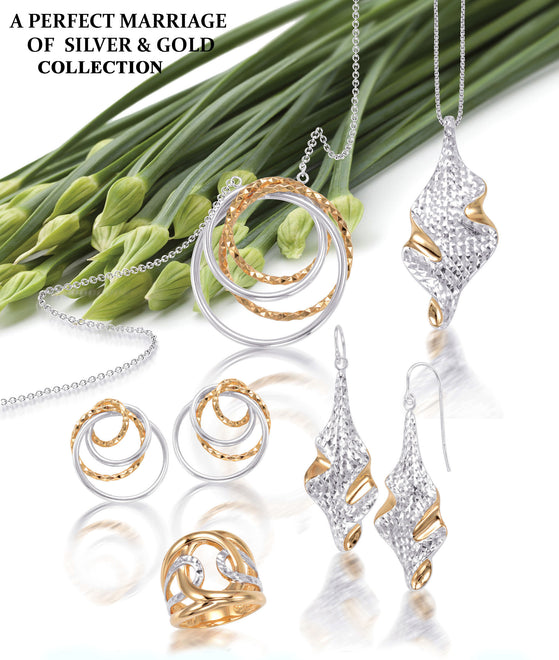 A Perfect Marriage of Silver & Gold Collection