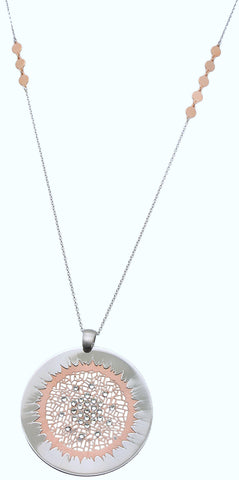 "The ""Glorious Sun"" Sterling Silver Necklace-Part of the Sky Collection"