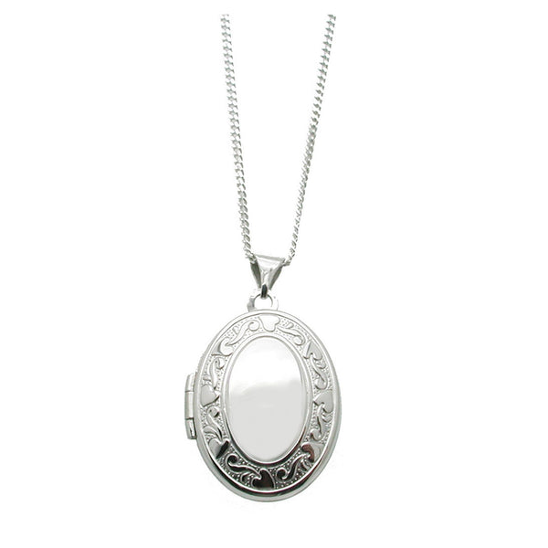 Never Ending Love Locket Necklace
