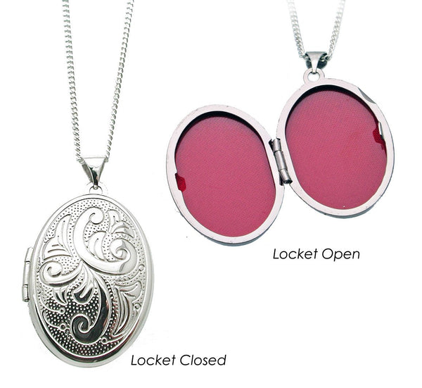 True Romance Locket Necklace