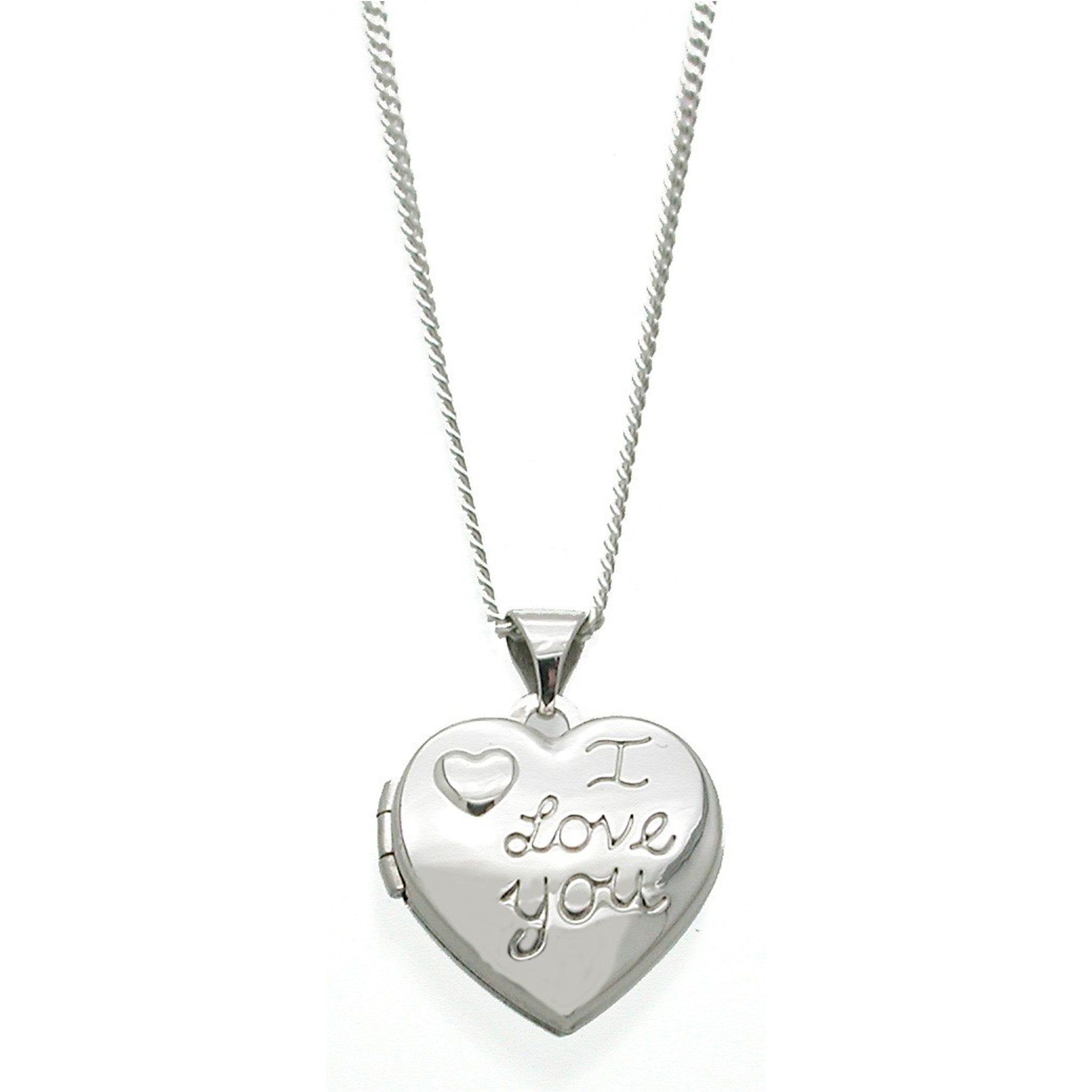 I Love You Locket Necklace