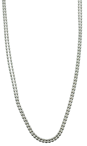 Dazzle Two Strand 18-20 inch Necklace
