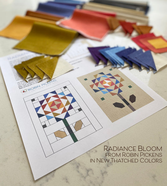 Radiance Bloom Mini Quilt_Digital PDF