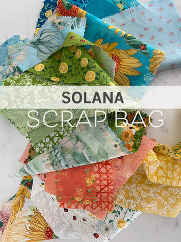 Scrap Bag of SOLANA Quilting Fabric - Moda fabric by Robin Pickens
