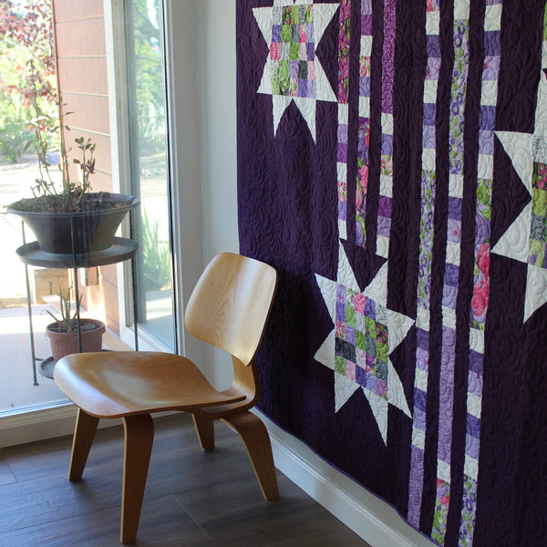 SHOWERING STARS (printed booklet) Quilt Pattern by Robin Pickens