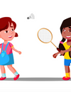 Children playing badminton more in USA