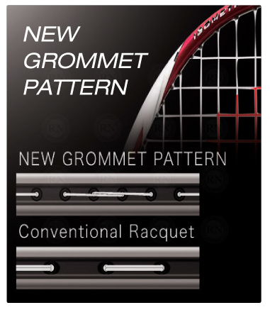 Yonex Duora 10LT New Grommet Pattern Sports Avenue