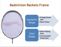 Badminton racket shape Sports Avenue USA Canada UK