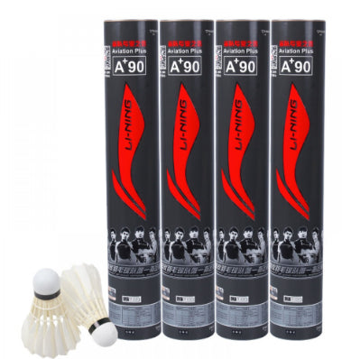 LI-NING A+90 BUNDLE OF 13 BADMINTON SHUTTLECOCKS A+ 90