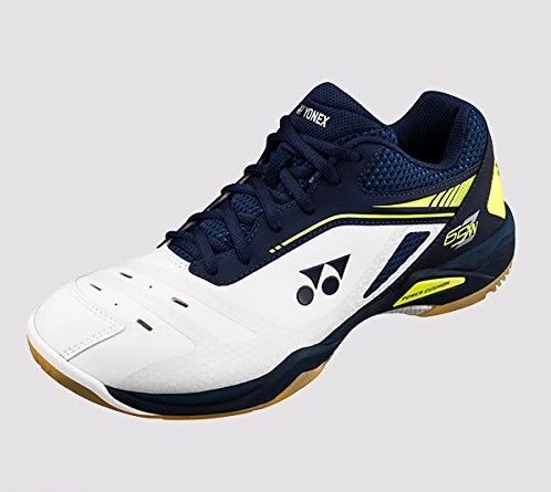 YONEX POWER CUSHION SHB-65Z WIDE MEN'S BADMINTON SHOES NAVY