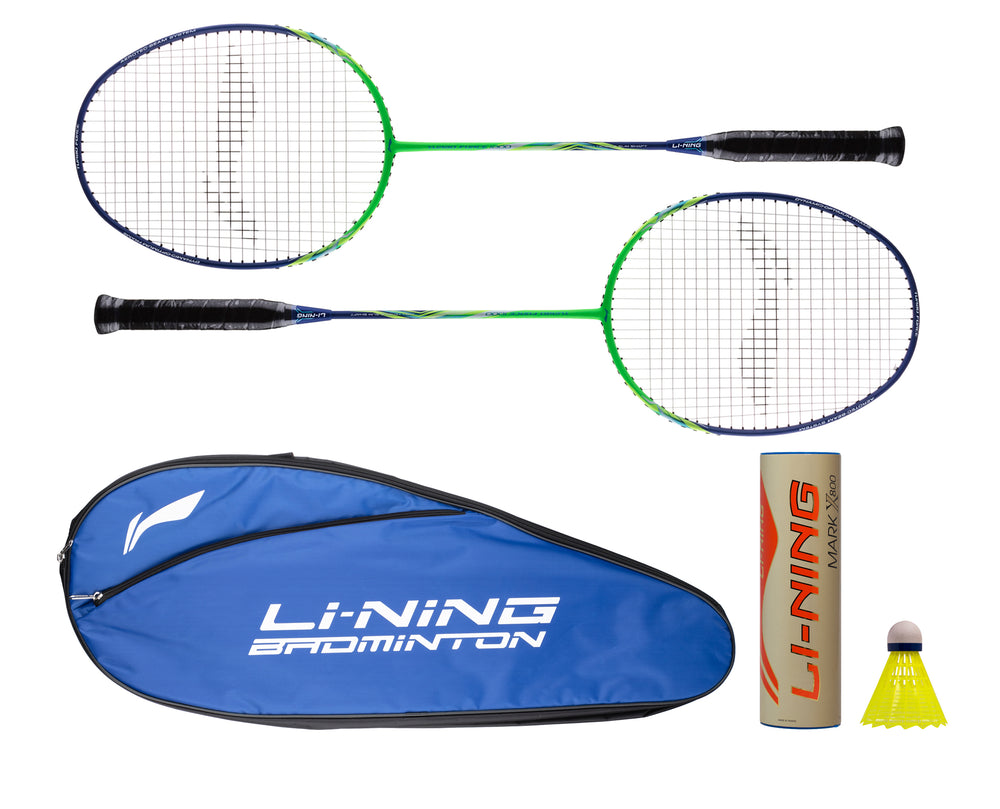 LINING TURBO FORCE 1000 STARTER PACKAGE BADMINTON RACKET