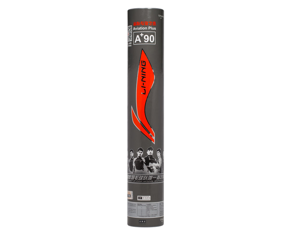 LI-NING A+90 BADMINTON SHUTTLECOCKS A+ 90 SINGLE TUBE