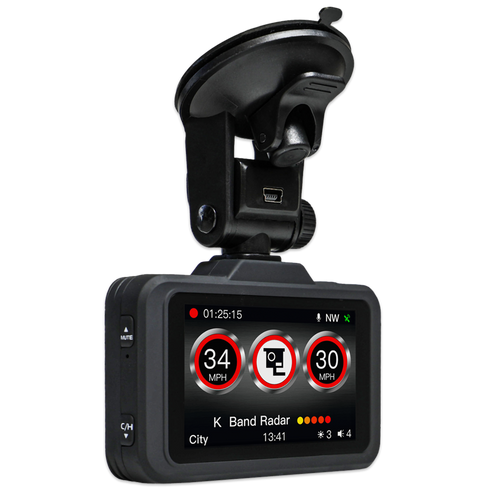 Aguri DX2000 Dash Cam GPS Speed Trap Detector