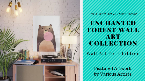 The Enchanted Forest - Magical Wall Art For Children's Bedrooms