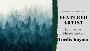 Featured Artist – Landscape Photographer Tordis Kayma
